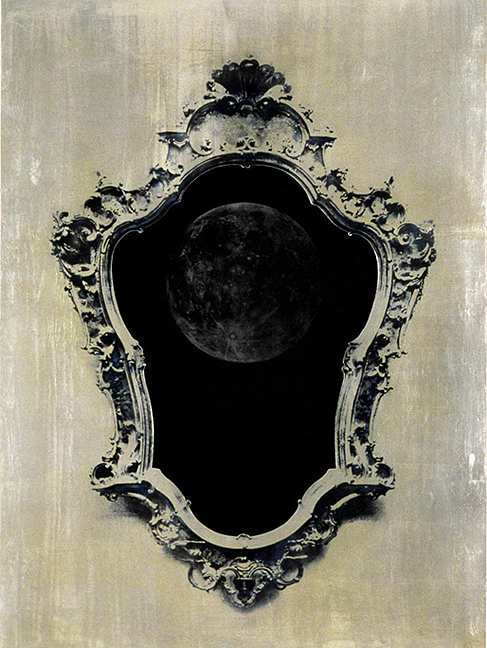 moon and mirror